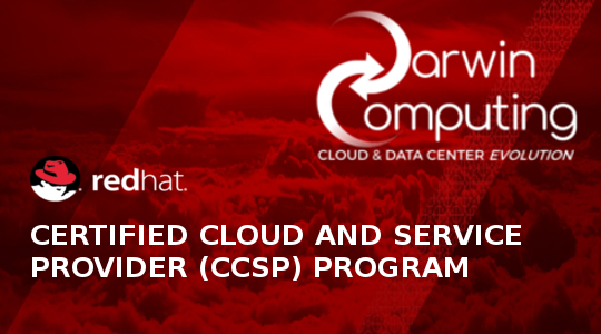 Darwin Computing è Red Hat Certified Cloud and Service Provider (CCSP)
