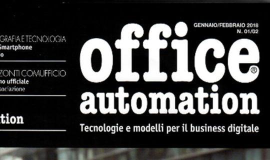 Darwin Computing sul numero di Gennaio-Febbraio di Office Automation