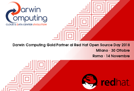Red Hat Open Source Day 2018: Darwin Computing Gold Partner
