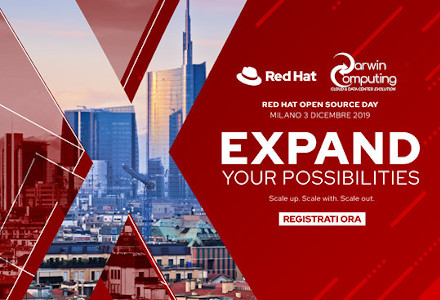 Red Hat Open Source Day 2019: Darwin Computing Gold Partner
